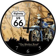 Orologio da muro Vintage Design  Highway 66 Map