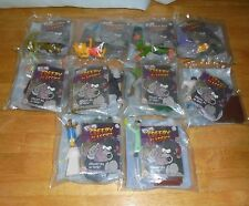 The Simpsons Creepy Classics Spooky Screen Show Figure Burger King Kids Toy Set
