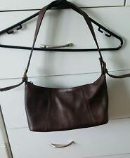 COLORADO Brown Soft Leather Shoulder Bag Handbag