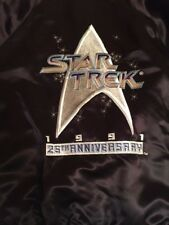 Scarce Paramount Star Trek Embroidered 25th Anniversary Jacket 1991