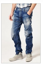 G-Star Motor 5620 Arc Loose Tapered Embro Mens JEans Size UK W32 L34 *REF01-19