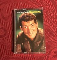 Dean Martin: The Very Best of Dean Martin Everybody Loves Somebody Cassette Tape
