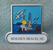 Seagull Dock Holden Beach North Carolina Rubber Magnet Souvenir Refrigerator M22