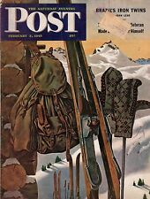 1945 Saturday Evening Post February 3-Brazil's Vargas;Sam Jones of Louisville KY