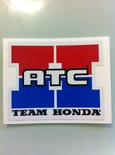 "Team Honda ATC Reproduction Decal 3.25"" 250R 350X 70 200X"
