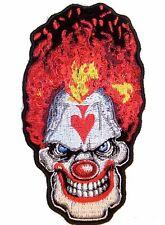 moto; biker, Patch ecusson Clown diabolique harley custom