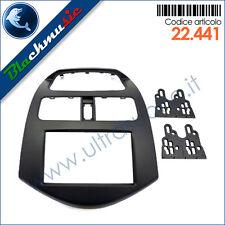 Kit mascherina montaggio autoradio 2DIN Chevrolet Spark (M300 dal 2009)