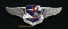 STRATEGIC AIR COMMAND SAC XL WING PIN US AIR FORCE AFB PILOT CREW GIFT B52 B2 B1