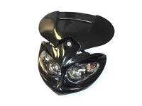 Universal Bike Headlights - Black Color - Gas Motorized Bicycle