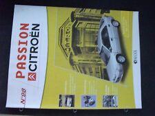 **j Fascicule Passion Citroën n°98 Xantia Activia de 1997 / Traction recarrossée