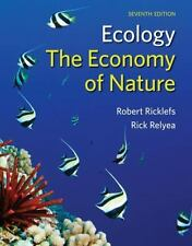 Ecology: The Economy of Nature by Robert Ricklefs; Rick Relyea