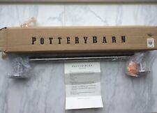 "NEW IN BOX Pottery Barn Spa 18"" Towel Bar - Brushed/Satin Nickel"