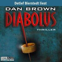 """DAN BROWN """"DIABUOLUS"""" 6 CDS AUDIOBOOK NEW!!"""
