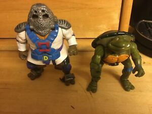 "TMNT - Teenage Mutant Ninja Turtles Samurai Donatello 5.5"" Action Figure 1993"