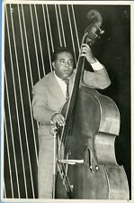 """""""Charlie MINGUS"""" Photo originale argentique L. PRYMAKA fin années 50"""