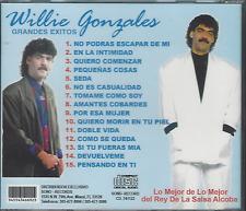 CD salsa WILLIE GONZALEZ No podras escapar de mi NO ES CASUALIDAD quiero morir