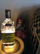 ~NEW~ Bling Lights JOSE CUERVO Tequila Empty LIQUOR BOTTLE Lamp Soft White LEDs
