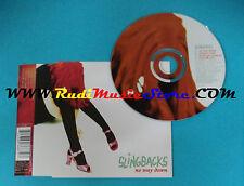 CD Singolo Slingbacks No Way Down VSCDT 1602 UK 1996 no mc lp vhs dvd (S24)