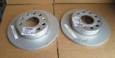 GENUINE AUDI A3 VW GOLF SCIROCCO CADDY REAR BRAKE DISCS 1K0615601L 1K0615601AC