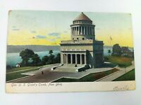 Vintage Postcard 1907 General US Grant's Tomb NY New York Posted