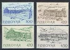Faeroer/Faroer postfris 1987 MNH 145-148 - Boerderijen / Bauernhauser