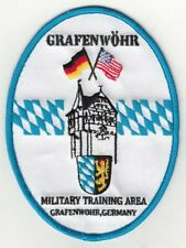 "Grafenwoehr Training Area Oval patch 4"" x 4.5"""