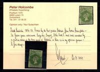 South Australia 1856 Mi. 4 Gestempelt 100% Attest P. Holcombe, Königin Victoria
