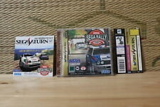 Sega Rally Championship w/spine flyer Sega Saturn SS Japan Very Good Condition!