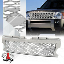 For 2005-2009 Land Rover LR3{AUTOBIOGRAPHY STYLE}Chorme/Silver ABS Grille Grill