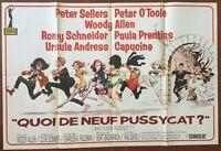 Plakat Was Von Neu Pussycat What's Peter Sellers 80x120cm