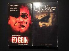 Ed Gein The Texas Chainsaw Massacre Jessica Biel Horror VHS Tested