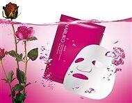 Naruko Rose & Botanic HA Aqua Cubic Hydrating Mask EX 10pcs