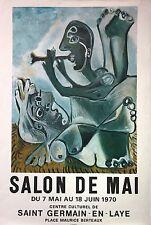 Pablo Picasso Salon de Mai Exhibition Poster (Limited Edition of 3000)