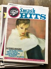 More details for smash hits 10 issues from 1983