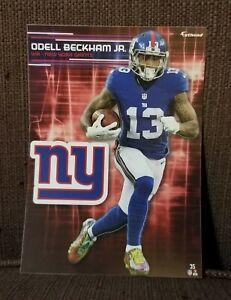 Odell Beckham Jr 2017 NFL Fathead Tradeables Decal New York Giants LSU Tigers
