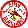 Firefighter Round Emblems Patch Maltese Cross Medical Fire Chest Shoulder