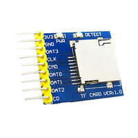 Micro SD Card Module Slot Socket Reader for Arduino STM32 MSP430 AVR PIC
