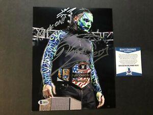 Jeff Hardy Hot signed autographed WWE wrestling 8x10 photo Beckett BAS coa