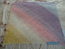 New Hand Knitted in Sirdar Yarn Babies Pram/Car Seat/Moses Blanket