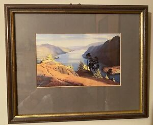 Ullswater Lake District by W. Heaton Cooper Framed Colour Print Ready to Hang