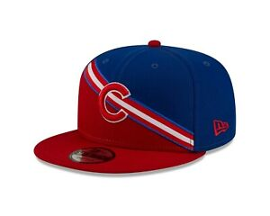 Chicago Cubs New Era Color Cross Royal / Red 9FIFTY Adjustable Snapback Hat
