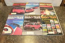COMPLETE ROAD & TRACK MAGAZINE JANUARY-DECEMBER 1982 (OAK9677-1 LOC.DDD #471)