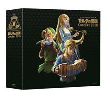 Zelda Concert 2018 CD The Legend of  Normal Edition Japan Import Free Shipping