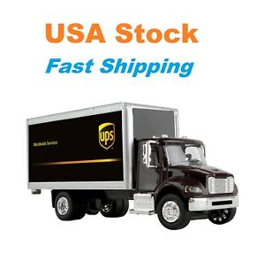 """UPS Box Truck, Daron, Diecast Model Toy Car, UPS Licensed , 6"""", 1/50 Scale"""