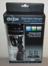 DEXIM Dual Dock Charger BRAND NEW in Box for iPhone 3GS 3G iPod