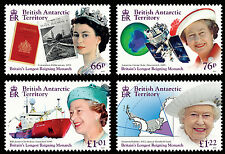 British Antarctic 2015 Longest Reigning Monarch 4v set SG 659/62 MNH