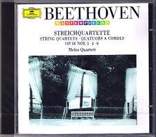 Melos quartetto: Beethoven String Quartet No. op.18 1 4 6 QUARTETTO CD NUOVO