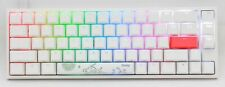 Ducky One 2 SF RBG Pure White RBG LED 65% Double Shot PBT Mechanical Keyboard