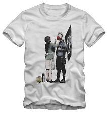 T-shirt /Maglietta Banksy Graffiti Anarchia Punk Kraz Shop