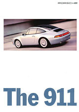 1995 Porsche 911 Carrera and Turbo Original Car Sales Brochure Catalog